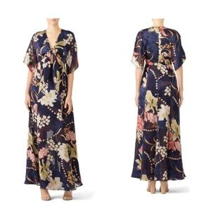 Anthropologie Hutch Floral Kayla Maxi Dress